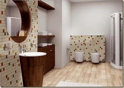 Baños Modernos de Visita