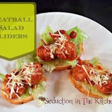 Meatball Salad Sliders