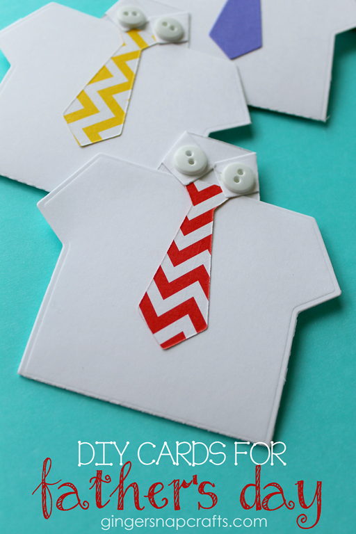 DIY Cards for Father's Day at GingerSnapCrafts.com #gingersnapcrafts #papercrafts #wermemorykeepers #lifestylestudios