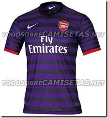 nueva camiseta del arsenal