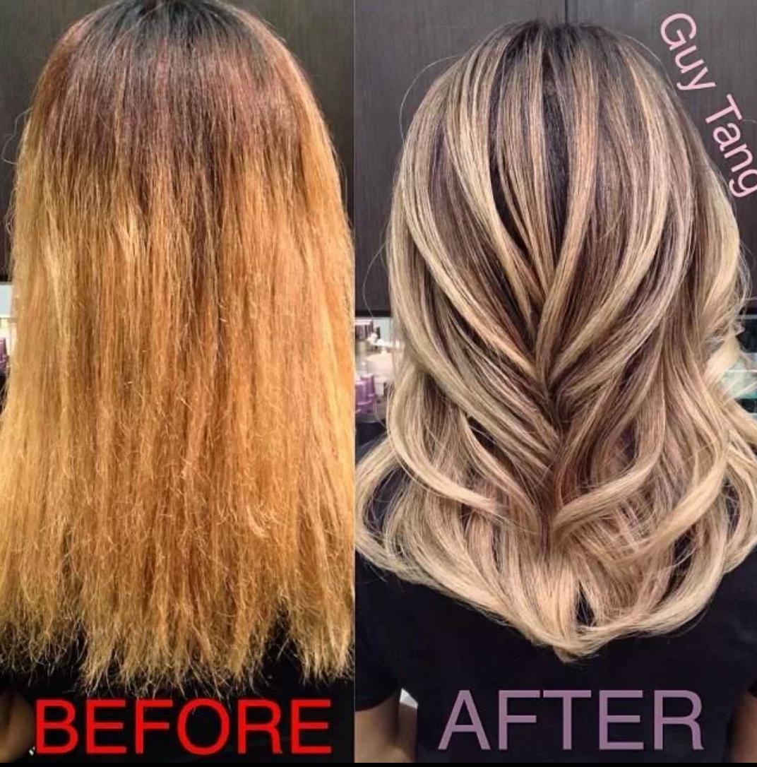 Шатуш на темные волосы: фото до и 9