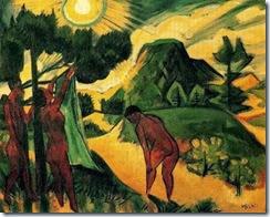 Verano en Nidden 1920