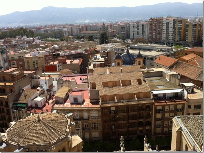 Vista desde la Catedral de Murcia-CuadernodePilibyLuzVB2