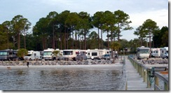 Ho-Hum RV Park from their pier