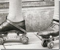 metal roller skates
