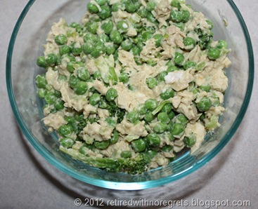 Tuna Salad for Breakfast - close-up