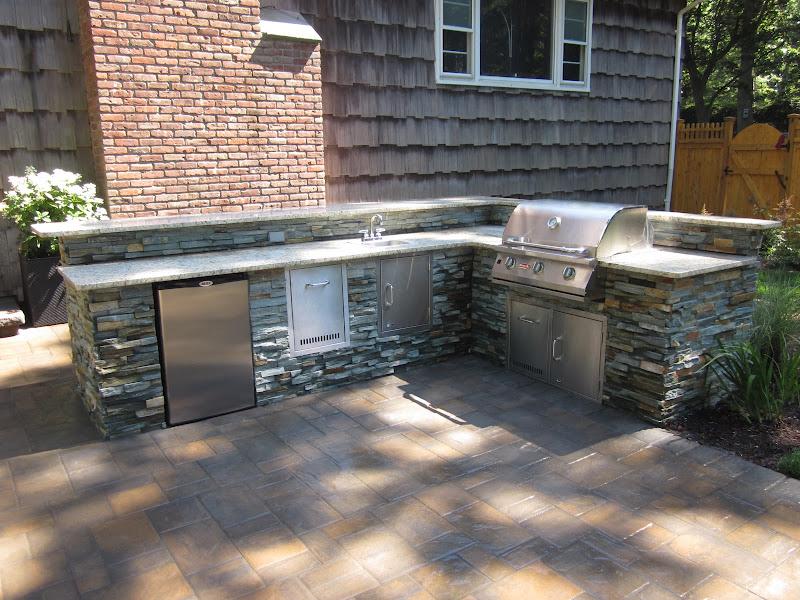 Custom Built Outdoor Kitchens Bbq Islands Long Island Ny Home Design