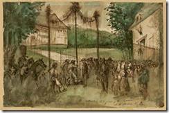 0060.GUYSAutorités-forçant-le-château-dEu.-Constantin-Guys-1802-1892