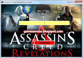 Assassin's Creed Revelations Crack and Activation Key Generator Download