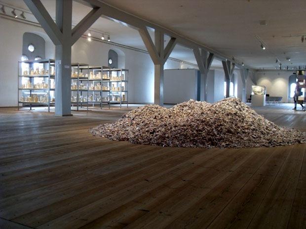 Efter Babel, udstilling i Bibliotekssalen i Trinitatis Kirke