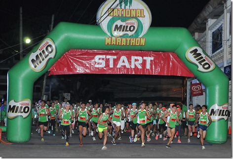 1 - 3,496 runners joined the thrilling 7th regional qualifying race of the 37th National MILO Marathon in Dumaguete Sunday