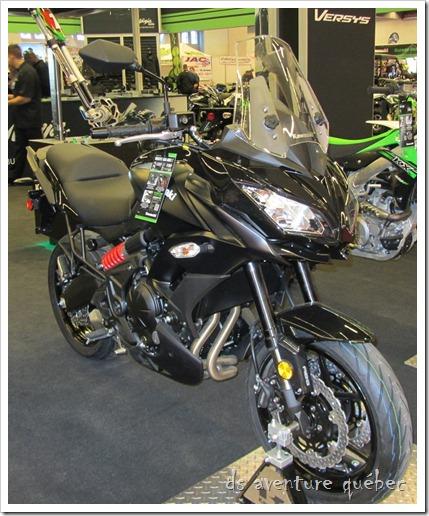 Salon Moto Montreal 2015 - Kawasaki Versys 650