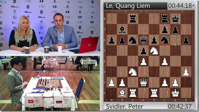 Le vs Svidler, G 2, Rd 4, Tromso World Cup 2013