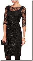 Phase Eight Stretch Sequin Dress