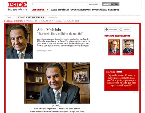 Entrevista Silas Malafaia