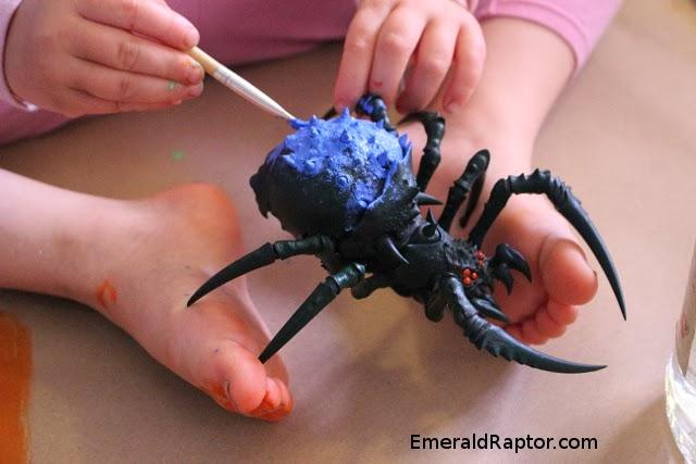 Male Orcs & Goblins Arachnarok Spider