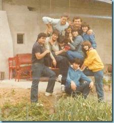 1983 Πρωτομαγιά στο ψυγείο Νίκου Μπλιάτκα 1