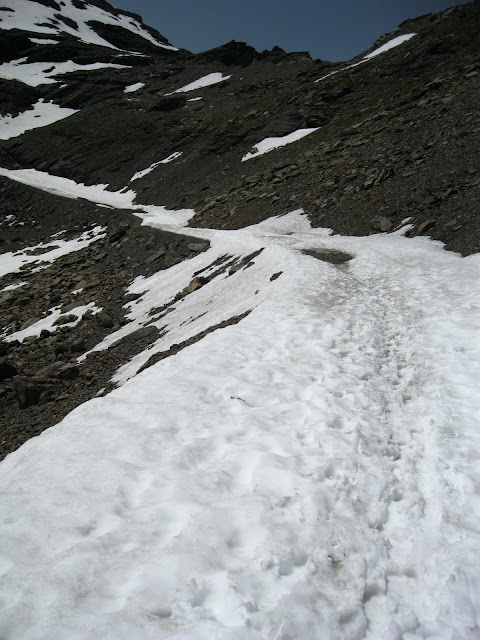 More snow walking :(