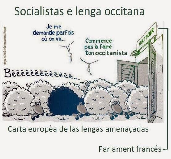 Occitanista e lei sobre las lengas de França