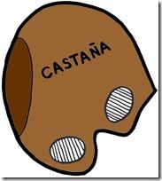 CARETA CASTANA COLOREADA