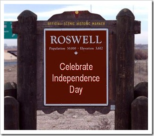 roswell sign
