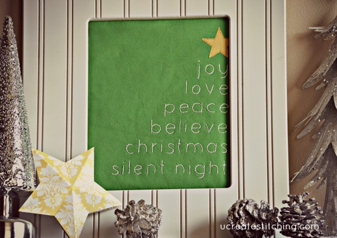 Free Christmas Tree Stitch Pattern