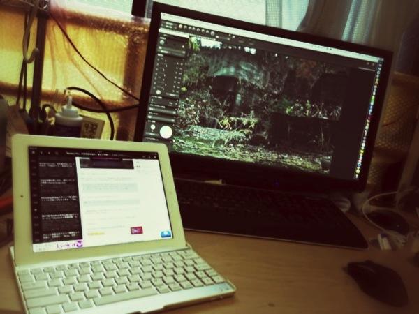 iPadとMac mini