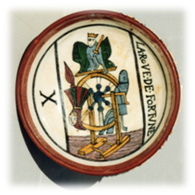 La Rueda de la Fortuna, cuenco de cerámica