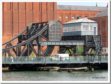Alexandra Dock lift bridge, Grimsby.