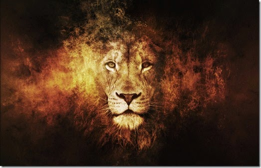 lion-fire-art