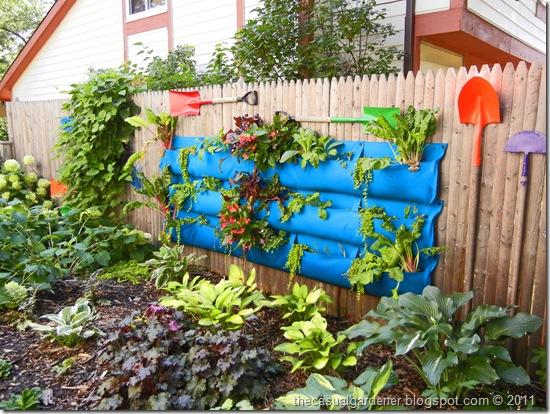 how to make a wall garden