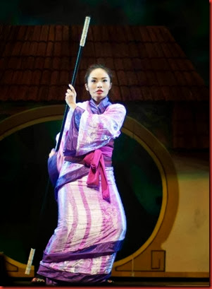 Gian Gloria as Hua Mulan