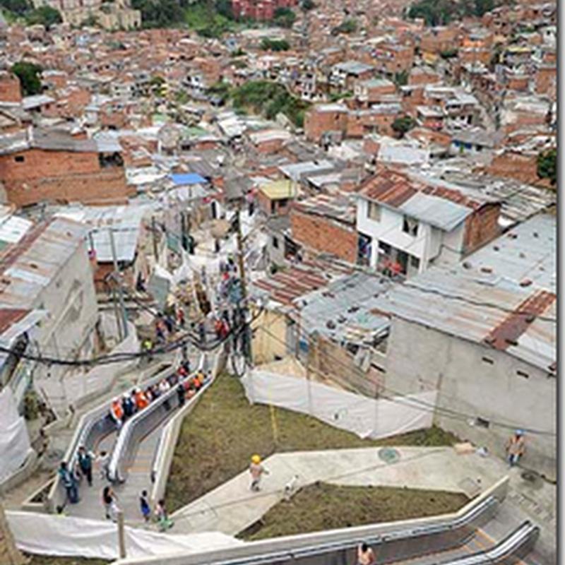 Colombia lancar eskalator gergasi
