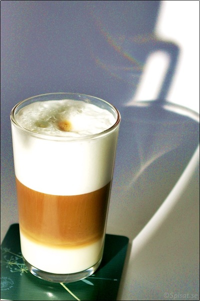 Kaffe i glas