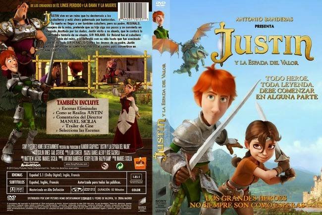 Justin Y La Espada Del Valor – Castellano – DVD9