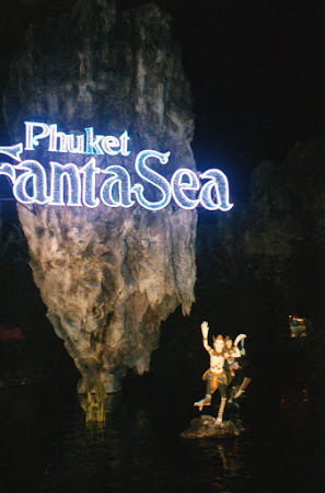 Obiective turistice Thailanda: Phuket Fantasea