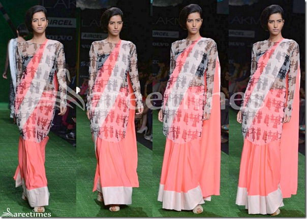 Masaba_Pink_Saree