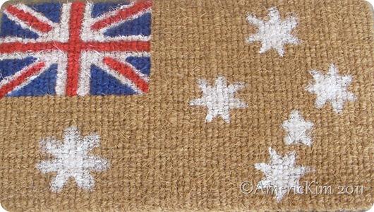 Flag Mat