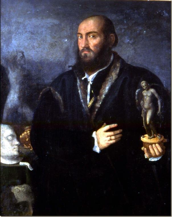 Paolo Pino, Portrait d'un collectionneur