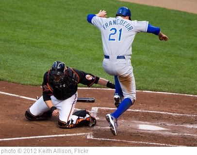 'Matt Wieters, Jeff Francoeur' photo (c) 2012, Keith Allison - license: http://creativecommons.org/licenses/by-sa/2.0/