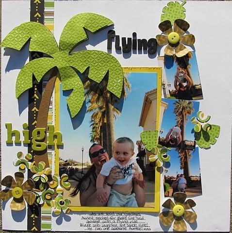 Family 2011- Amanda flying high