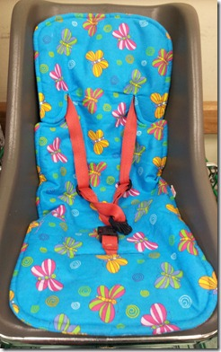 capsule liner blue butterfly trolley pic 1