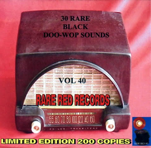 Rare Black Doo-Wop Sounds Vol. 40 - 31 - Front