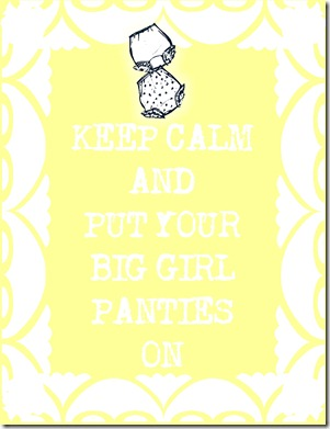 Big Girl Panties Yellow