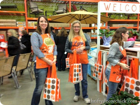 home depot do it herself worksho