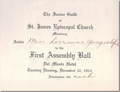 First Assembly Ball