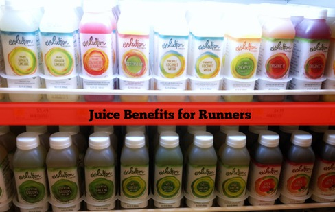 Juice Benefits for Runners