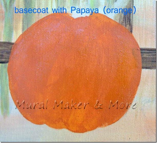 Pumpkin Orange Paint how to paint a pumpkin painting . . . - just paint it blog