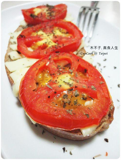 番茄起司烤吐司 (3)