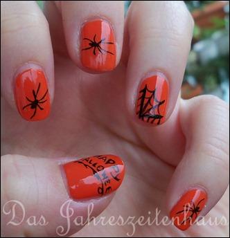 Halloween Schwarze Witwe 4